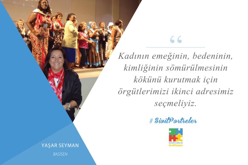 #SivilPortreler Yaşar Seyman