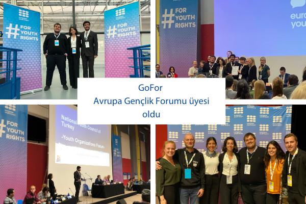 GoFor Avrupa Gençlik Forumu üyesi oldu!
