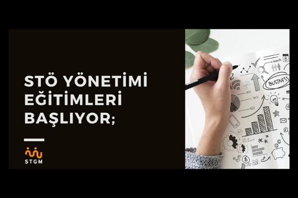 """STGM """"STÖ Yönetimi Eğitimleri"""" düzenliyor"""