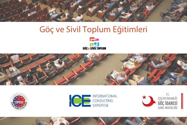Göç ve Sivil Toplum Eğitimleri başvuruya açıldı
