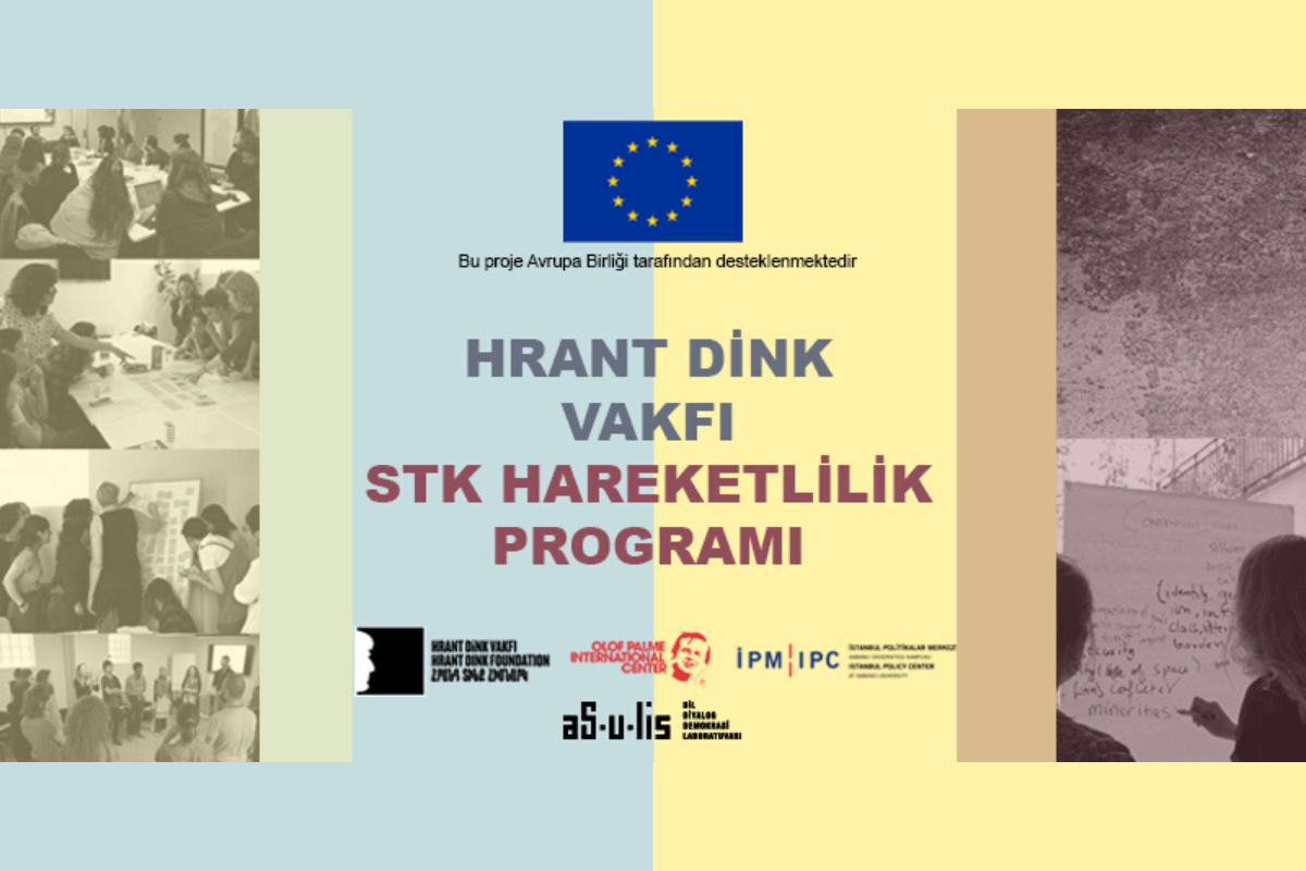 Hrant Dink Vakfı STK Hareketlilik Programı başvuruları açıldı